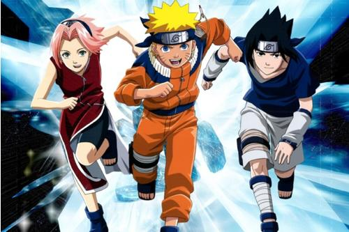 Naruto en Boing
